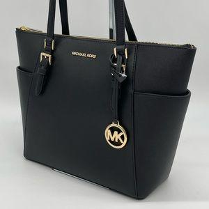 Michael Kors Charlotte Tote Bag Black